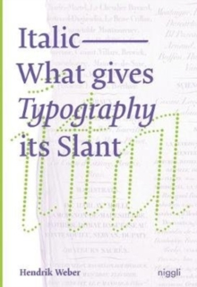 Image for Italic  : what gives typography its slant