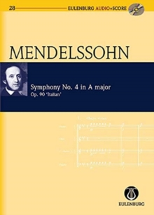 Image for Symphony No. 4 in a Major / A-Dur Op. 90 'Italian'