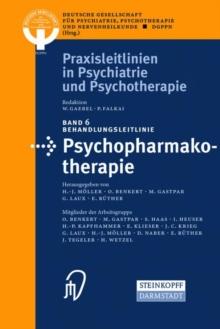 Image for Behandlungsleitlinie Psychopharmakotherapie