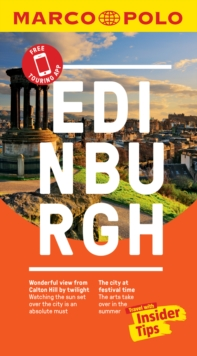 Image for Edinburgh Marco Polo Pocket Travel Guide 2019 - with pull out map