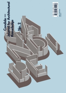 Image for Candide. Journal for Architectural Knowledge, no. 2