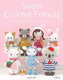 Image for Khuc cay's tiny hands  : 16 crochet amigurumi designs