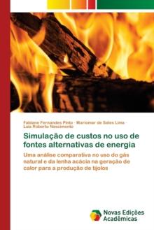 Image for Simulacao de custos no uso de fontes alternativas de energia