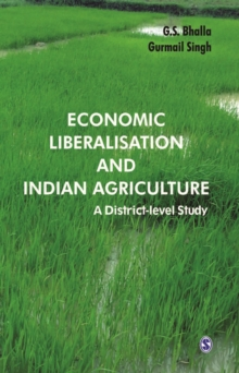 Image for Economic liberalisation and Indian agriculture: a district-level study