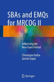 Image for SBAs and EMQs for MRCOG II  : addressing the new exam format