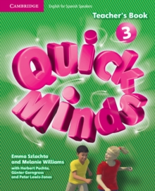 Image for Quick Minds Level 3 Teacher's Book Spanish Edition