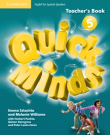 Image for Quick Minds Level 5 Teacher's Book Spanish Edition