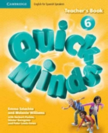 Image for Quick Minds Level 6 Teacher's Book Spanish Edition