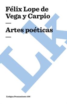 Image for Artes Poeticas