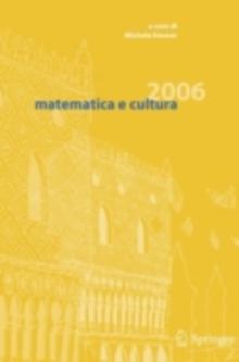 Image for matematica e cultura 2006.