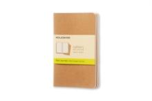 Image for Moleskine Plain Cahier - Kraft Cover (3 Set)
