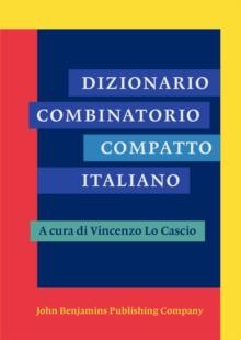 Image for Dizionario Combinatorio Compatto Italiano
