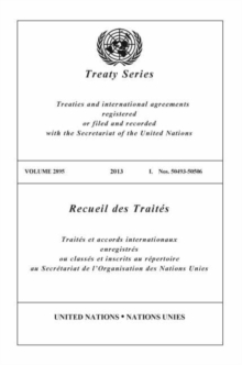 Image for Treaty Series 2895 (English/French Edition)