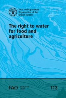 Image for The right to water for food and agriculture