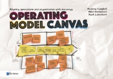 Image for Operating model canvas  : aligning operations and organization with strategy