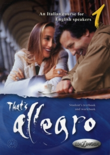 Image for Allegro : That's allegro 1 + CD-audio