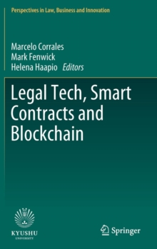 Legal Tech, Smart Contracts and Blockchain