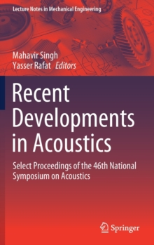 Image for Recent Developments in Acoustics : Select Proceedings of the 46th National Symposium on Acoustics