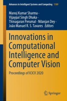 Image for Innovations in Computational Intelligence and Computer Vision : Proceedings of ICICV 2020