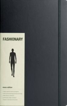 Image for Fashionary Portfolio Mens Sketchbook A4